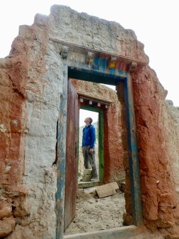 Exploring a monastery