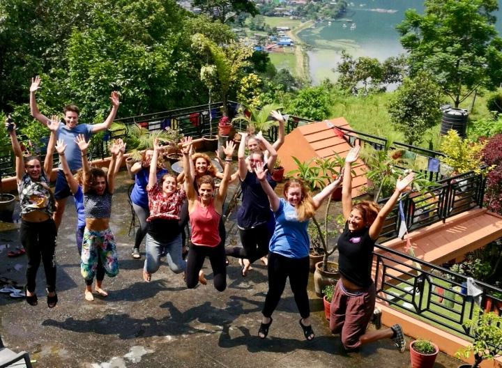 Happy yogis!